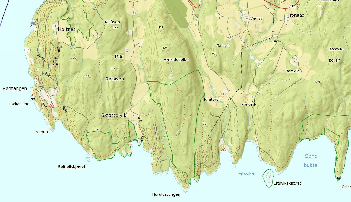 Kart kartverket
