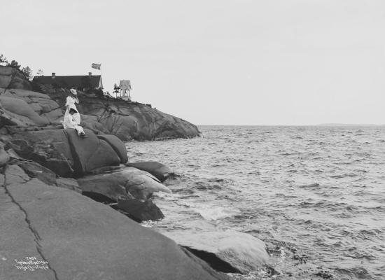 Wilse: Kystparti Nebba Rødtangen 3/7 1904