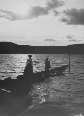 Wilse: Elskende i maaneskinn 10/7 1904