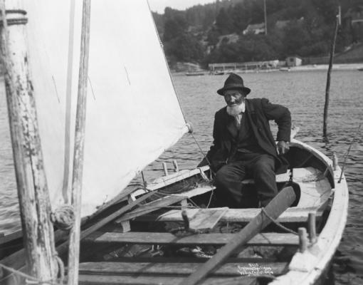 Wilse: Fiskeren seilende 6/8 1904