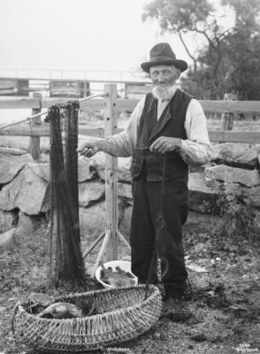 Wilse: Flyndrefiskern ved Garn 2/8 1904