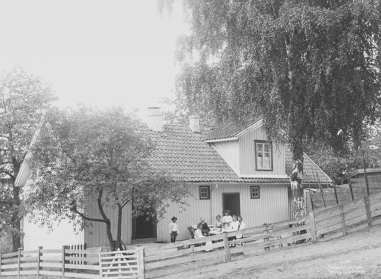 Wilse: Karen Bjørgums hus 18/7 1904