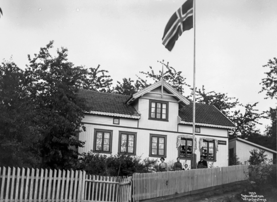 Wilse: Andreasens hus 18/7 1904