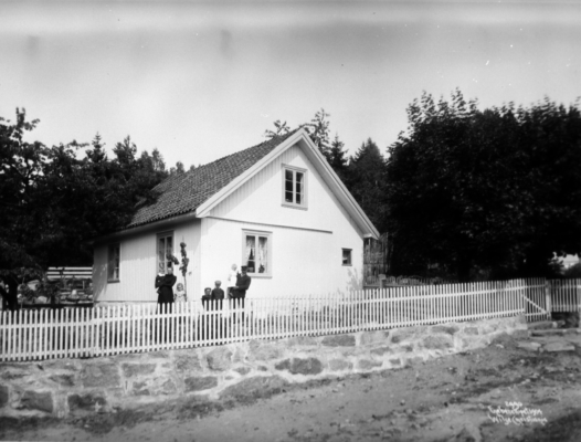 Wilse: Lods Andersens hus 18/7 1904