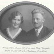 asbjorn og olea johansen 1932