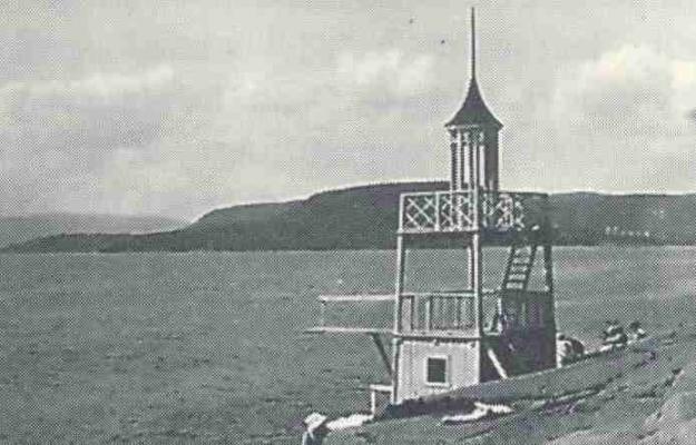 Stupetårnet på Nebba. Utlånt av Ivar Jørstad.