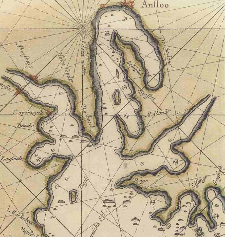 Van Keulens kart 1681 web